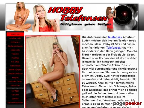Private Telefonsex Hobbyhuren